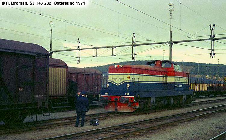 SJ T43 232