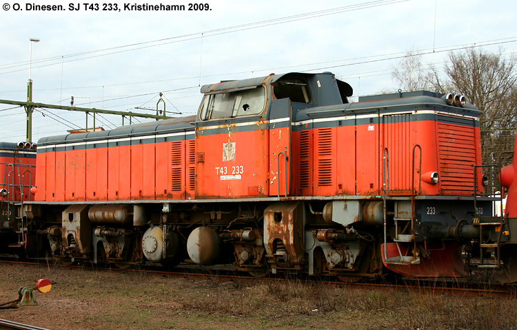 SJ T43 233