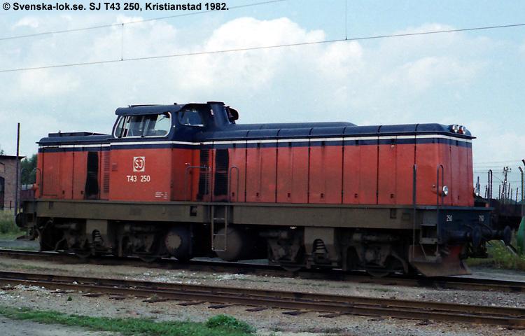 SJ T43 250