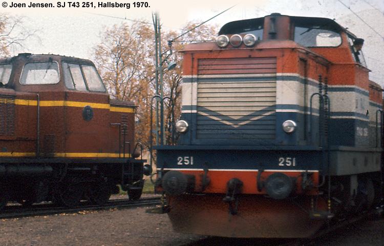 SJ T43 251