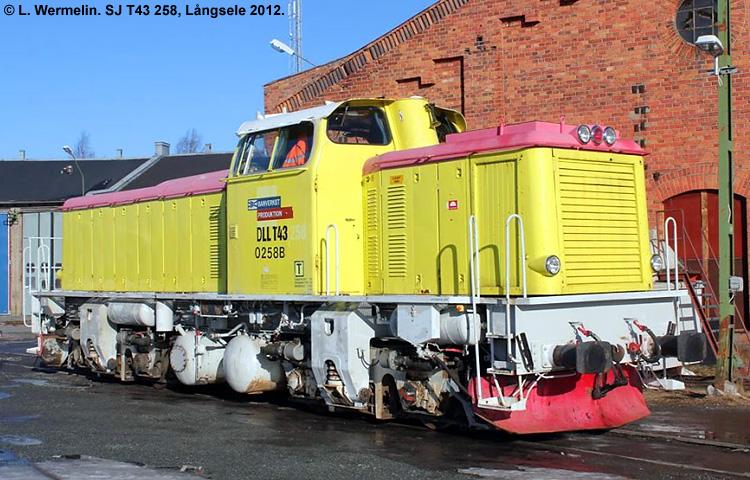 SJ T43 258