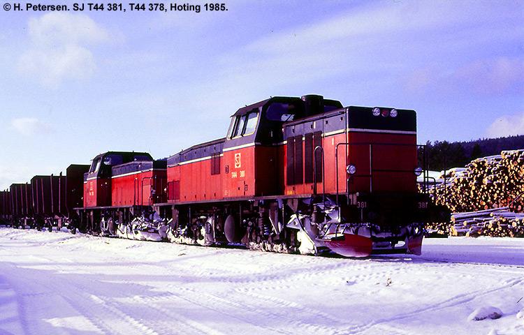 SJ T44 381