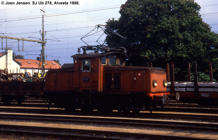 SJ Ub 278