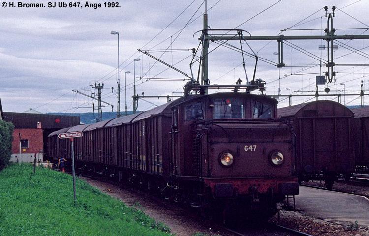 SJ Ub 647