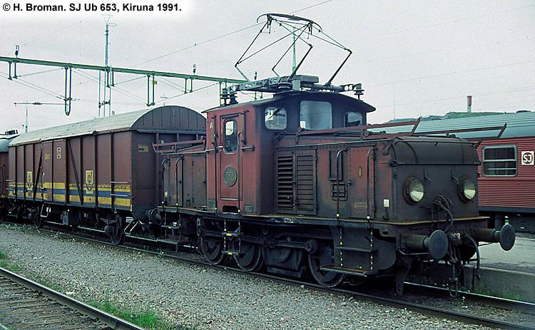 SJ Ub 653
