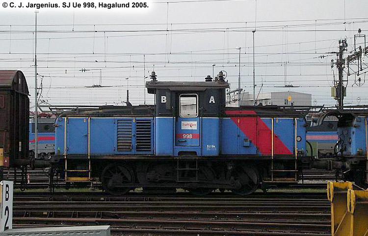 SJ Ue 998