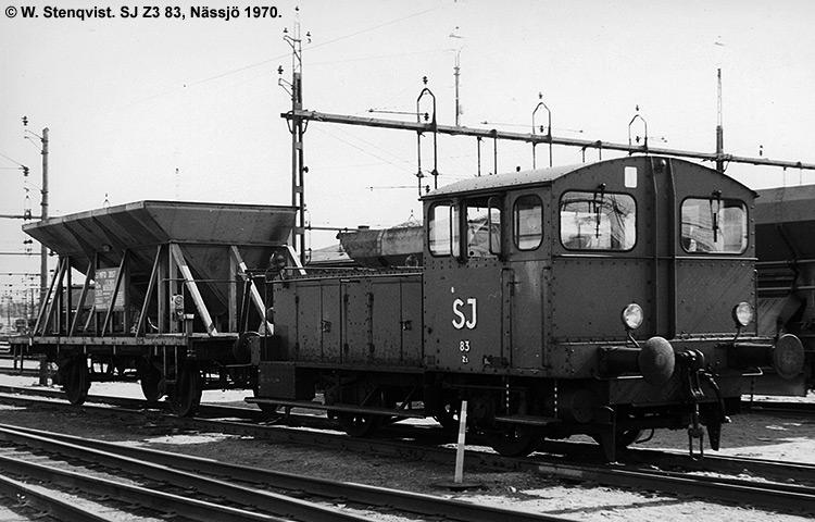 SJ Z3 83