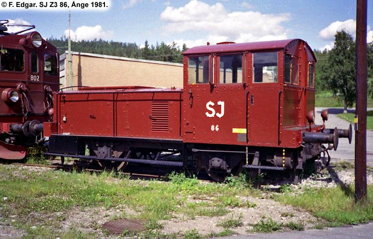 SJ Z3 86