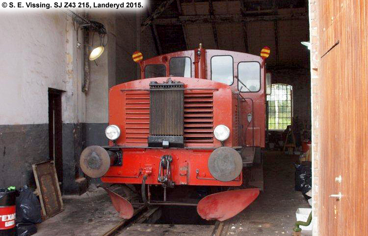 SJ Z43 215
