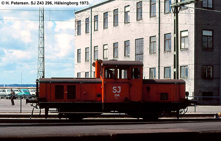 SJ Z43 296