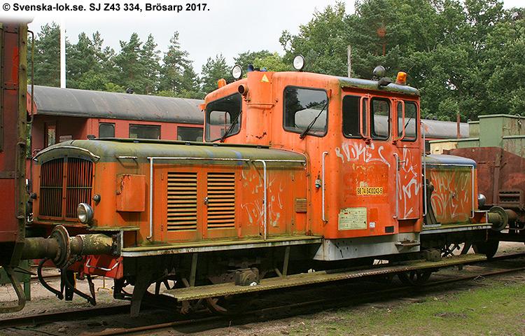 SJ Z43 334
