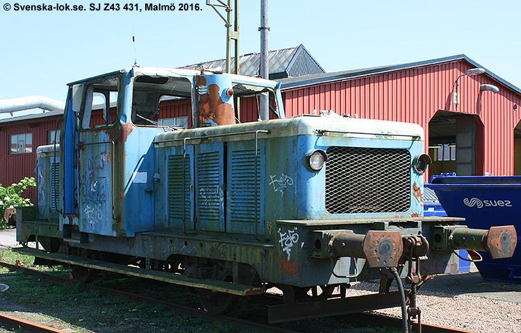SJ Z43 431