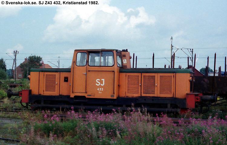 SJ Z43 432