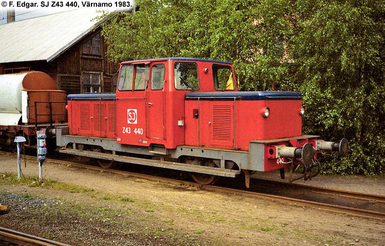 SJ Z43 440