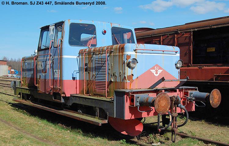 SJ Z43 447