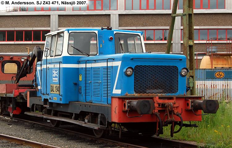 SJ Z43 471