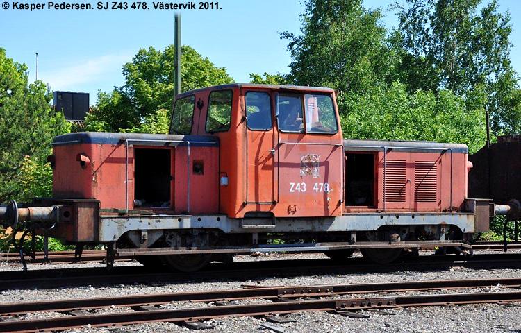 SJ Z43 478