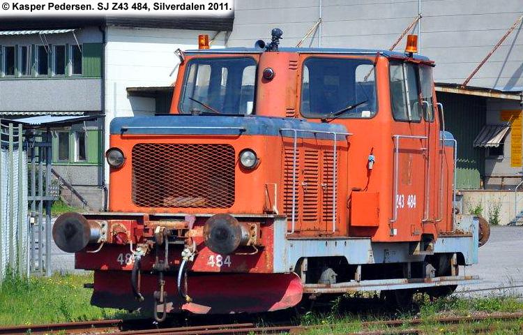 SJ Z43 484