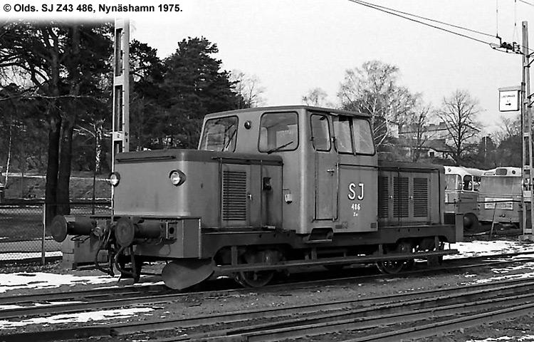 SJ Z43 486