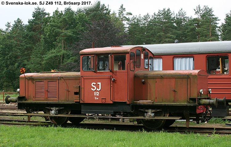 SJ Z49 112