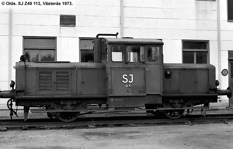 SJ Z49 113