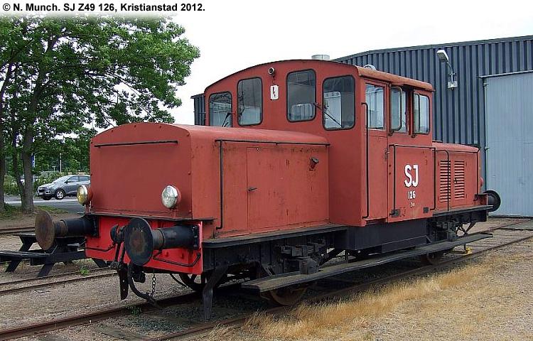 SJ Z49 126