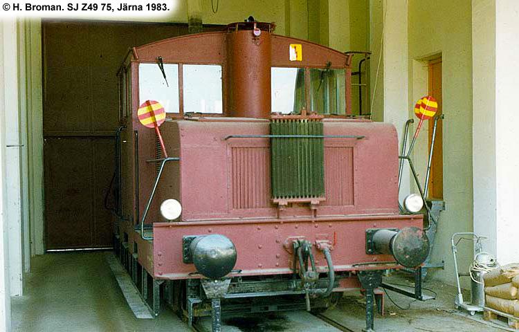 SJ Z49 75