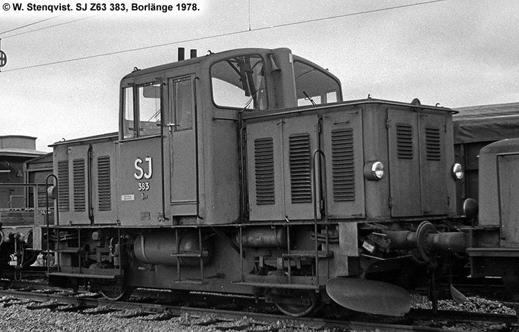 SJ Z63 383