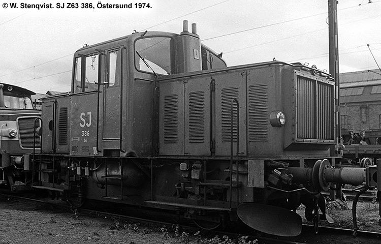 SJ Z63 386
