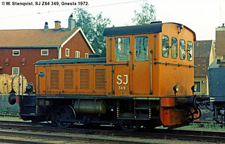 SJ Z64 349