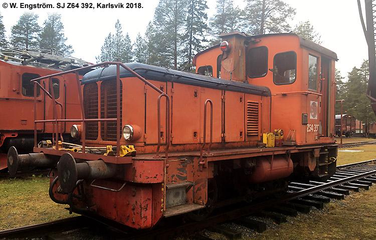 SJ Z64 392