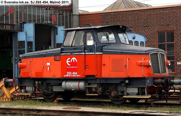 SJ Z65 494