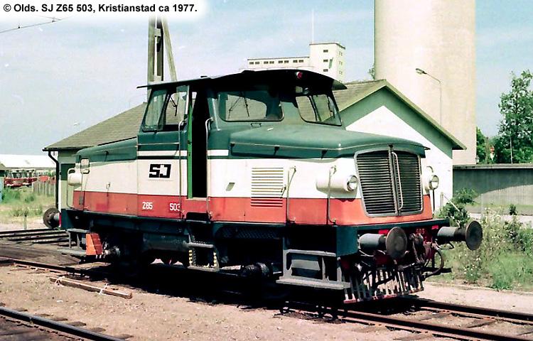 SJ Z65 503