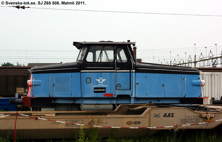 SJ Z65 508