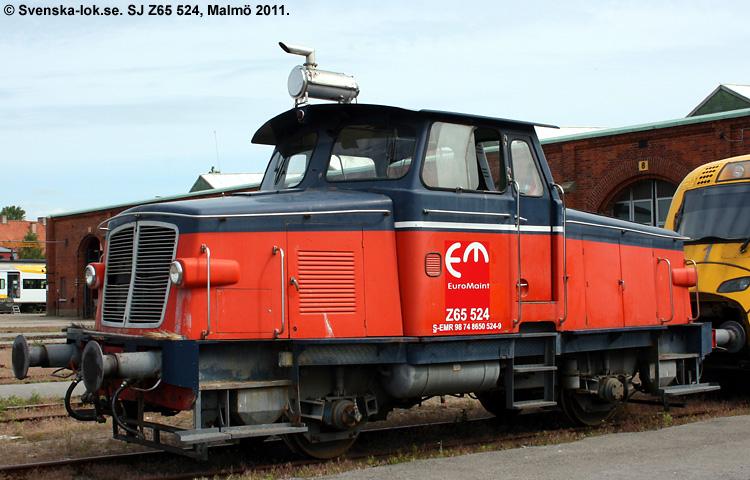 SJ Z65 524