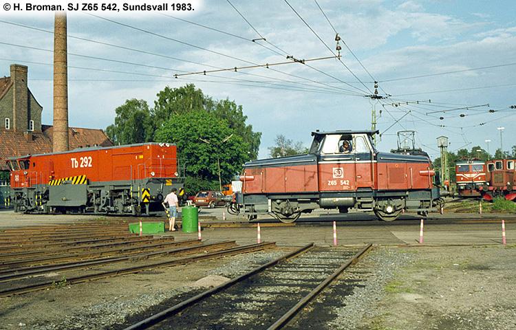 SJ Z65 542