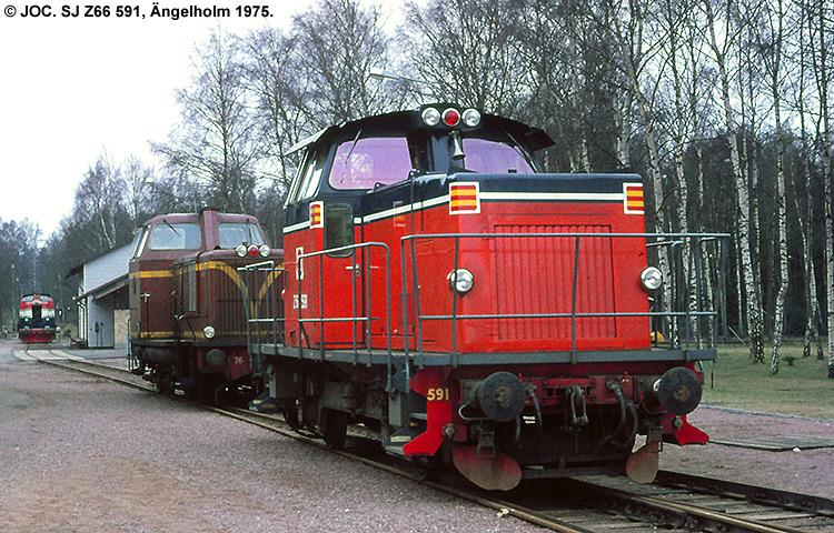 SJ Z66 591