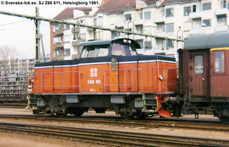SJ Z66 611