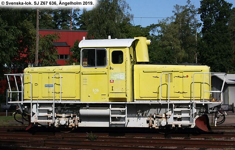 SJ Z67 636