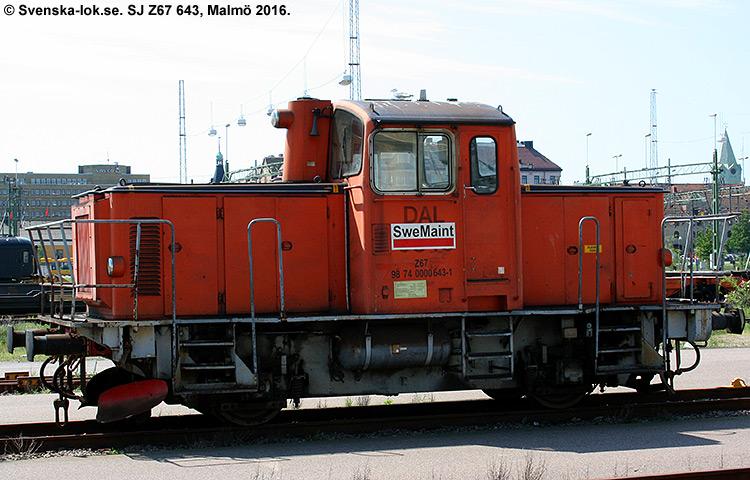 SJ Z67 643