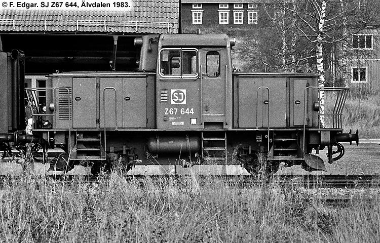 SJ Z67 644