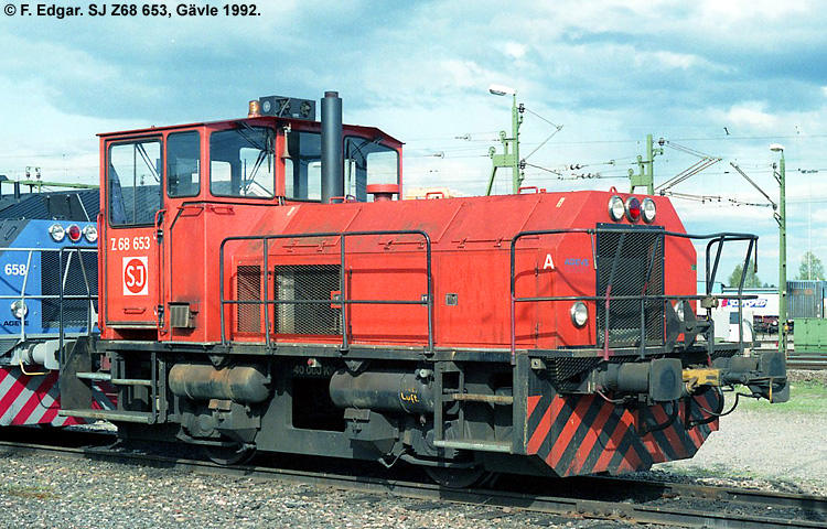 SJ Z68 653