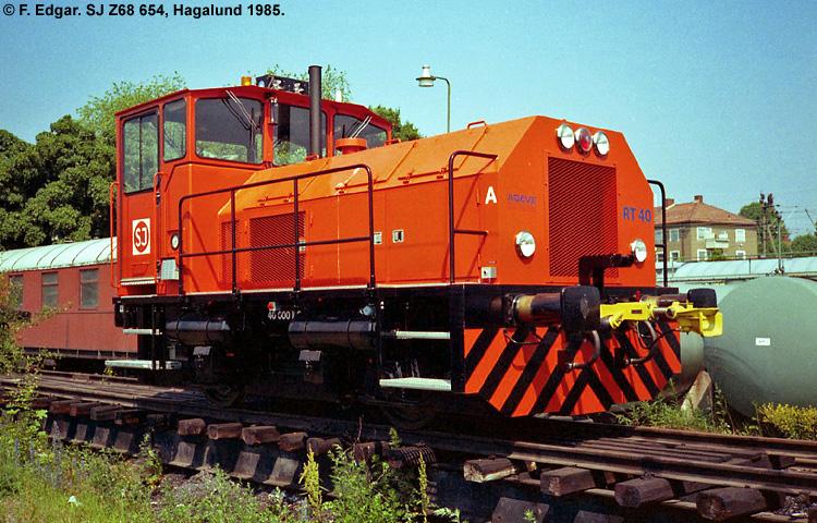 SJ Z68 654
