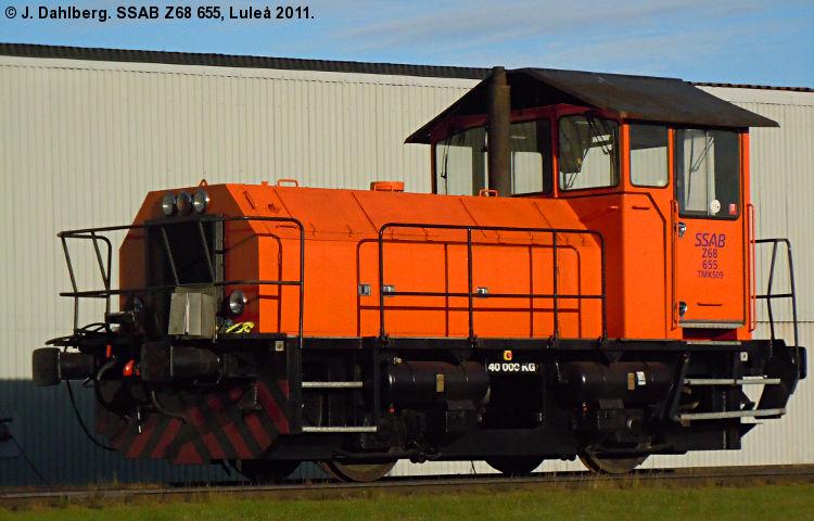 SJ Z68 655