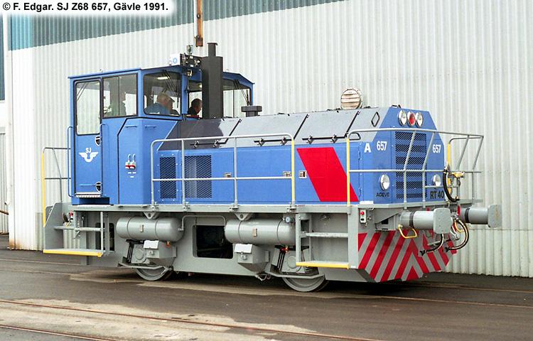 SJ Z68 657