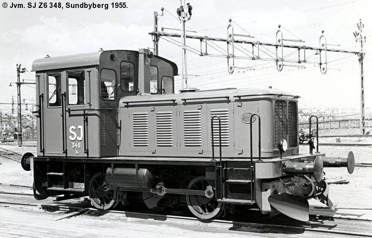 SJ Z6 348