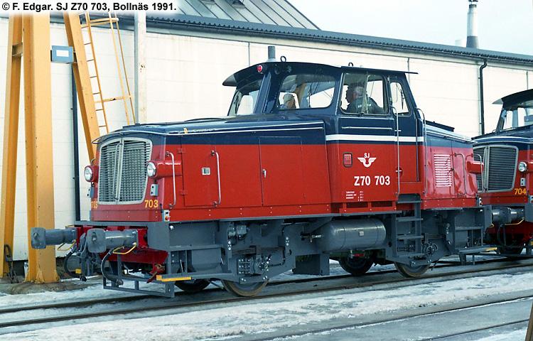 SJ Z70 703