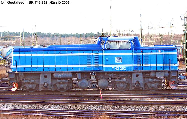 BK T43 252