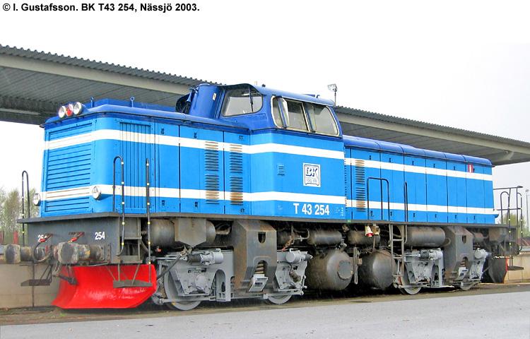 BK T43 254
