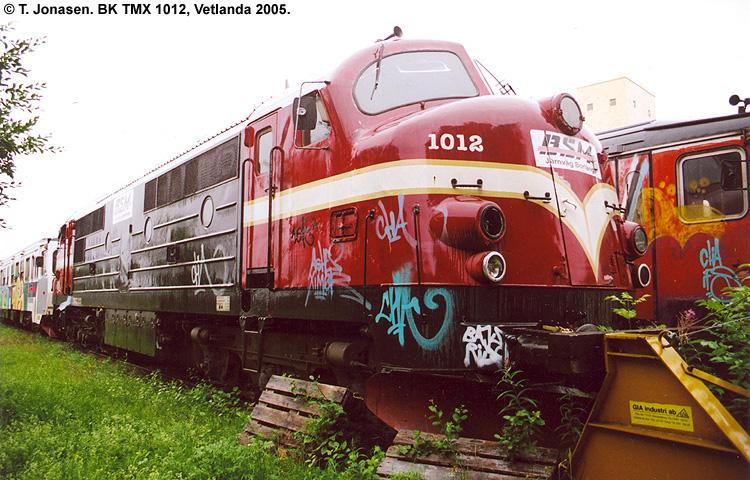 BK TMX 1012